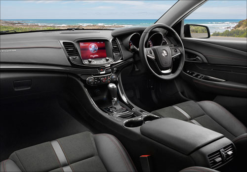 Holden Commodore SV6 Storm Interior