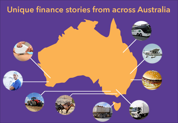 Unique finance stories across Australia
