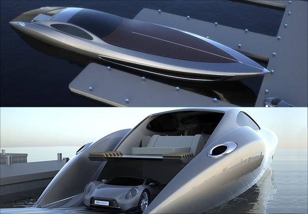 Rolls Royce Super Yacht and Car